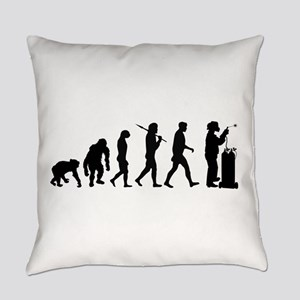 Welding Evolution Everyday Pillow