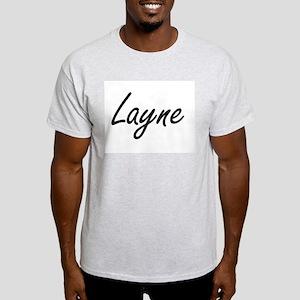 Layne Artistic Name Design T-Shirt