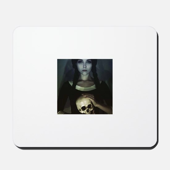 GOTHIC GIRL Mousepad