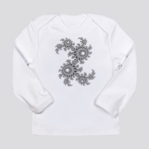 Dazzling in Black and White Long Sleeve T-Shirt