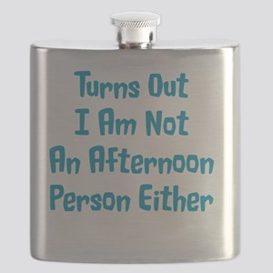 Not An Afternoon Person Flask