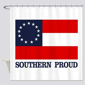 1 Nat (Southern Proud) Shower Curtain