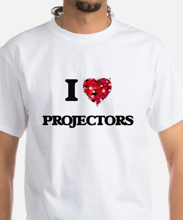 I Love Projectors T-Shirt