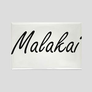 Malakai Artistic Name Design Magnets
