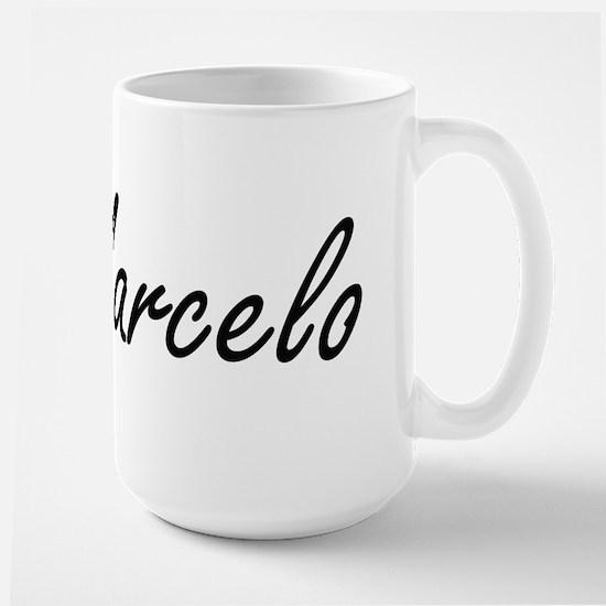 Marcelo Artistic Name Design Mugs