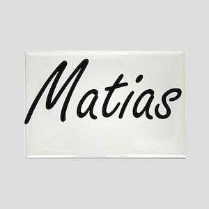 Matias Artistic Name Design Magnets