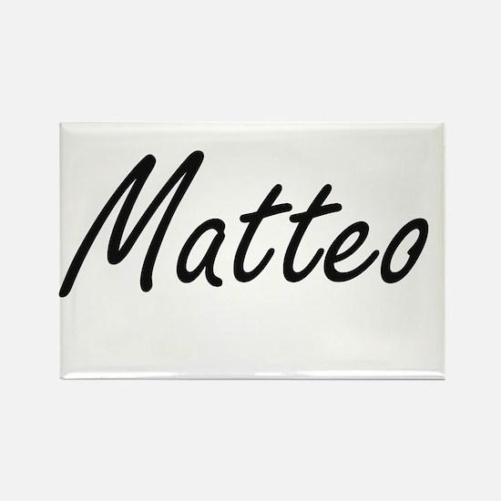 Matteo Artistic Name Design Magnets