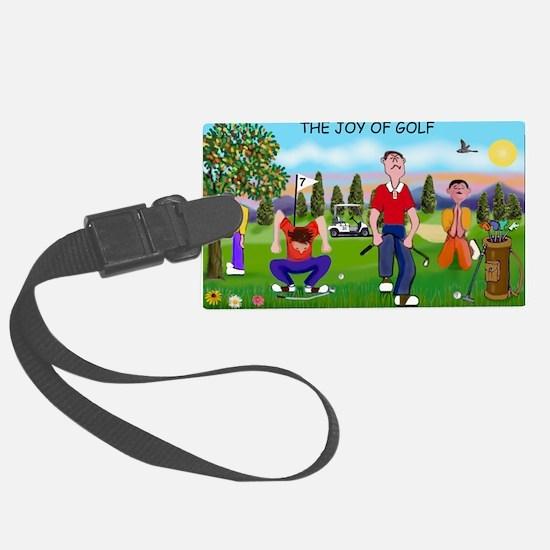 Joy of Golf 1 Luggage Tag