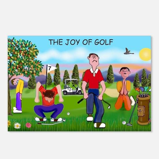 Joy of Golf 1 Postcards (Package of 8)