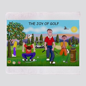 Joy of Golf 1 Throw Blanket