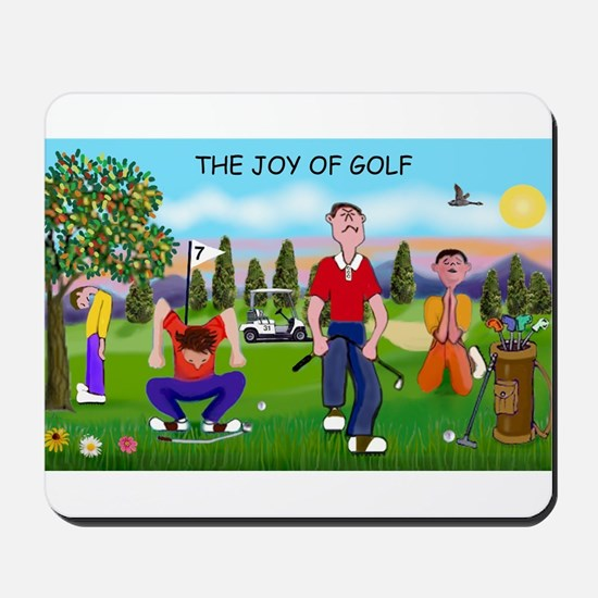 Joy of Golf 1 Mousepad