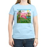 Golfing Flamingo Women's Light T-Shirt