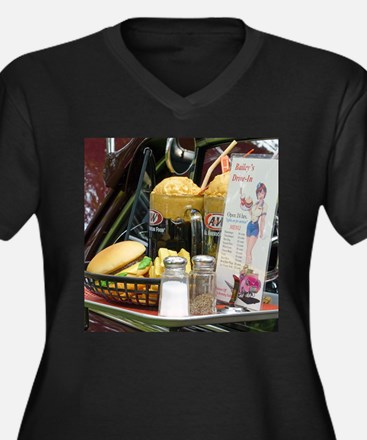 Fine Dining Plus Size T-Shirt