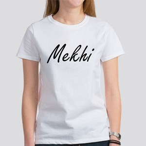 Mekhi Artistic Name Design T-Shirt