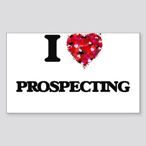 I Love Prospecting Sticker