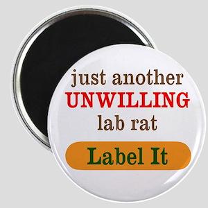 Unwilling Lab Rat Magnets