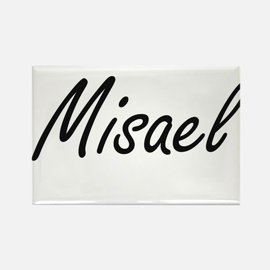Misael Artistic Name Design Magnets