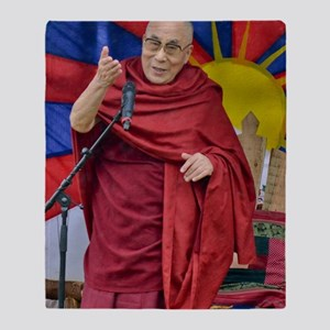 DALAI LAMA Throw Blanket