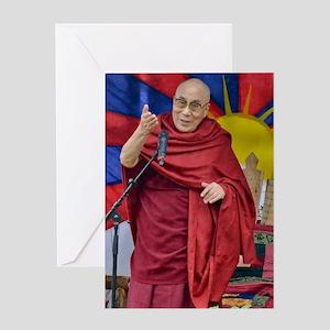DALAI LAMA Greeting Card