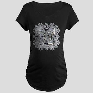 Diamond Gift Brooch Maternity Dark T-Shirt