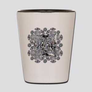 Diamond Gift Brooch Shot Glass