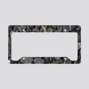 Rocks License Plate Holder