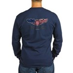 Live To Fly Version 1 Long Sleeve Dark T-Shirt