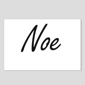 Noe Artistic Name Design Postcards (Package of 8)