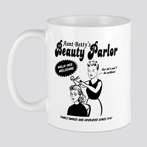 """Aunt Betty's Beauty Parlor"" Mug"