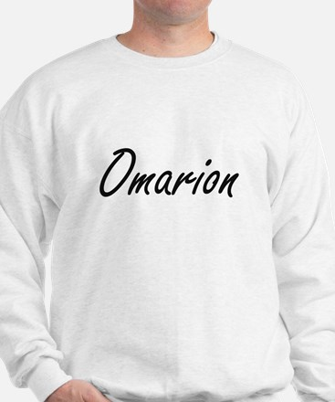 Omarion Artistic Name Design Sweatshirt