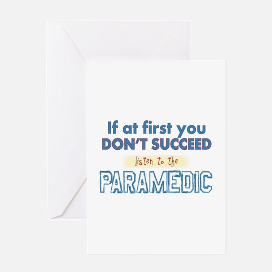Paramedic Greeting Cards