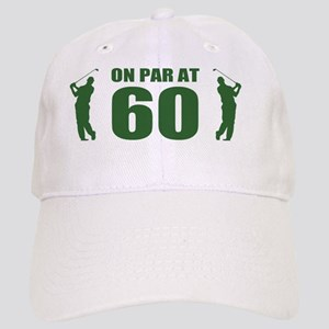 Golfer's 60th Birthday Cap