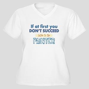 Painter Plus Size T-Shirt