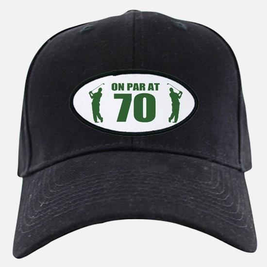 Golfer's 70th Birthday Baseball Hat