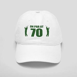 Golfer's 70th Birthday Cap