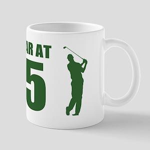 Golfer's 75th Birthday Mugs