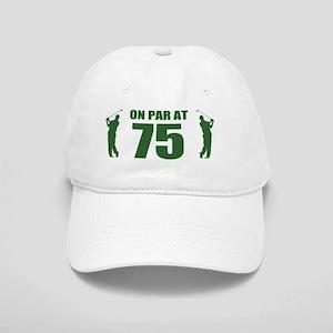 Golfer's 75th Birthday Cap