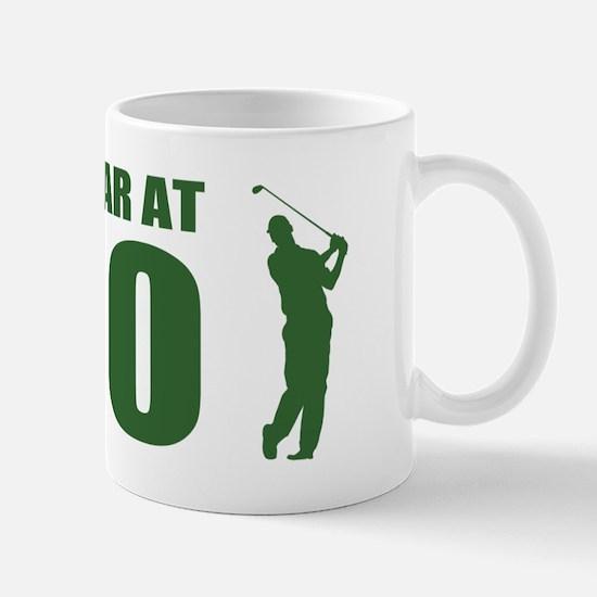 Golfer's 80th Birthday Mugs