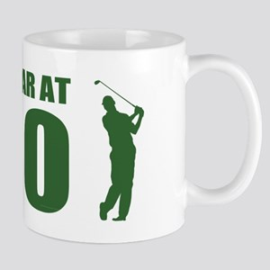 Golfer's 90th Birthday Mugs