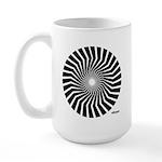 45rpm Mod Spiral Large Mug