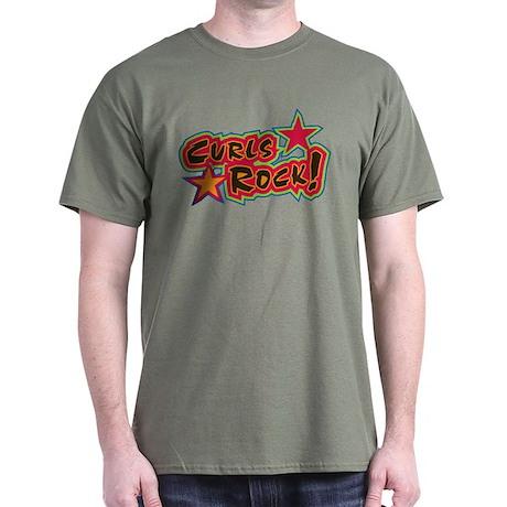 Curls ROCK! Dark T-Shirt