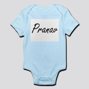 Pranav Artistic Name Design Body Suit