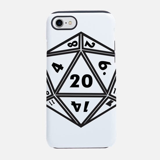 D20 iPhone 8/7 Tough Case