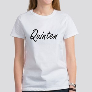 Quinten Artistic Name Design T-Shirt