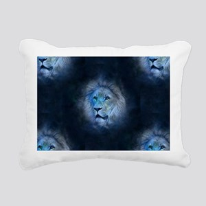 leo lion Rectangular Canvas Pillow