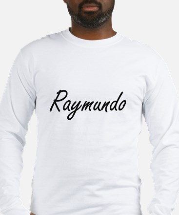 Raymundo Artistic Name Design Long Sleeve T-Shirt