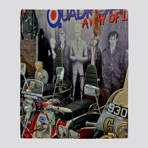 QUADROPHENIA Throw Blanket