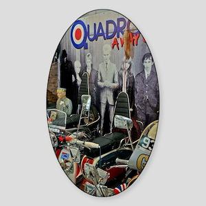 QUADROPHENIA Sticker (Oval)