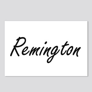 Remington Artistic Name D Postcards (Package of 8)