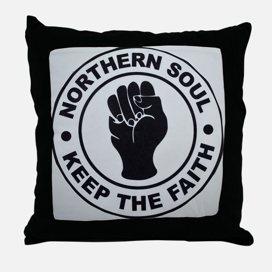 KEEP THE FAITH 2  Throw Pillow